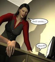 Penelope - Working Late 11 by Torqual3D