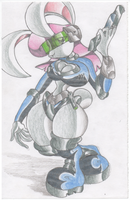 Cyber Bunny. March 2, 2005. by Virus-20