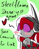 Steelflame got a dress-up game by Pandablubb