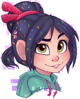 Vanellope by strawberryneko33