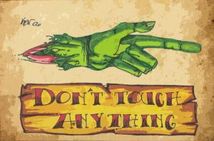 dont touch by m40a2