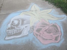 Driveway Drawing by I-married-Bloom