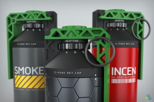 Grenade Combo Detail by pixelquarry