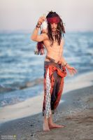 Capitan Jack Sparrow - Pirates Of The Caraibeans by LordProtoMan