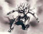 Mech Warrior - Spider by Shimmering-Sword