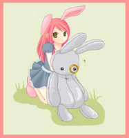 Ellie Bunny by Naked-Squid