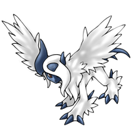 Mega Absol. by BlazeCookie