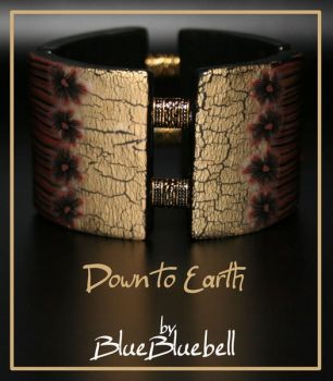 Down to Earth bracelet by BlueBluebell