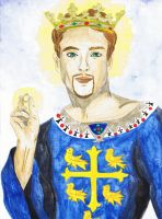 Saint Edward the Confessor by RowanLewgalon