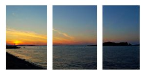 Howth Triptych by superflyninja