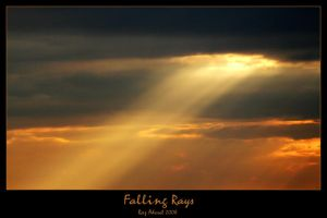 Falling Rays by Aderet