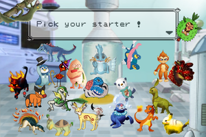 Pick your starter ! Collaboration by LordOrenamus