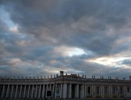 Sky over the Vatican by Cyril-Helnwein