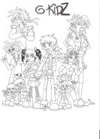 G-KidZ The Gorillaz generation by GND-KicaCris
