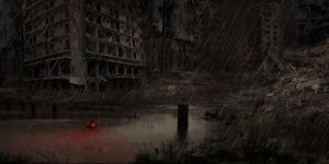 Abandoned City ( DownPour ) by RushLightInvader