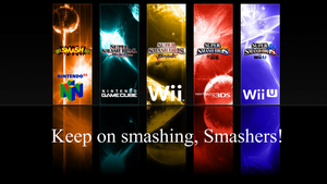 Super Smash Bros. Evolution Wallpaper 14 by TheWolfBunny