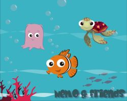 Nemo and friends by melimelo