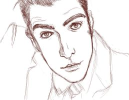 WIP: Zachary Quinto by maRchxhaRe