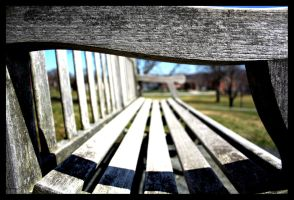 Bench by iamheero