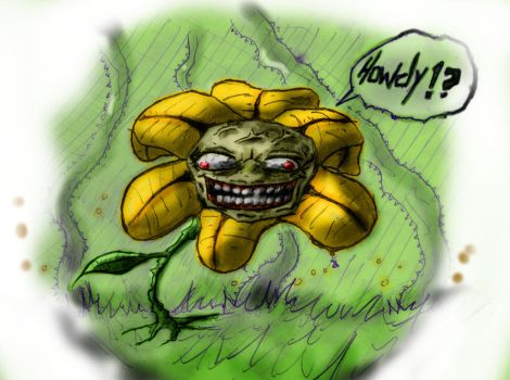 My Flowey by Gagurum