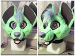Livilou Fursuit Head WIP by GoldenCat22
