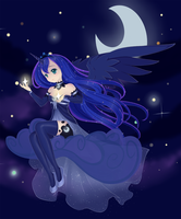 Mlp: Princess luna by sylphlox