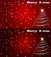 Merry X-mas Wallpaper by hello-123456