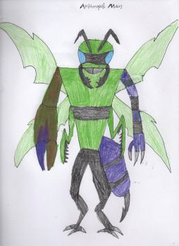 Arthropod Man (DC Comics oc) by TigerDragon3721