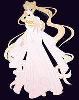 Princess Serenity WIP by MagicaRin