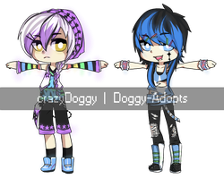 {95 - 96} 24 hour auction - rave :: CLOSED by Doggy-Adopts