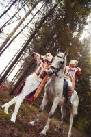 Trinity Blood - Fortuna Family by adelhaid