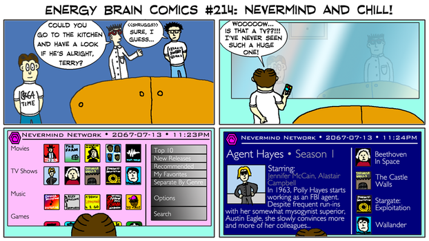 Energy Brain Comics #214: Nevermind And Chill! by EnergyBrainComics