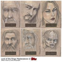 LotR Masterpieces I by ConnieFaye