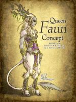 Queen Faun Concept by HeatherHitchman
