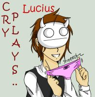 FANART// CRY PLAYS: Lucius by gothgirl5410