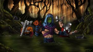 Into the Swamp by Carnage-Khan