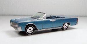 Johnny Lightning 1962 Lincoln Continental by Firehawk73-2012