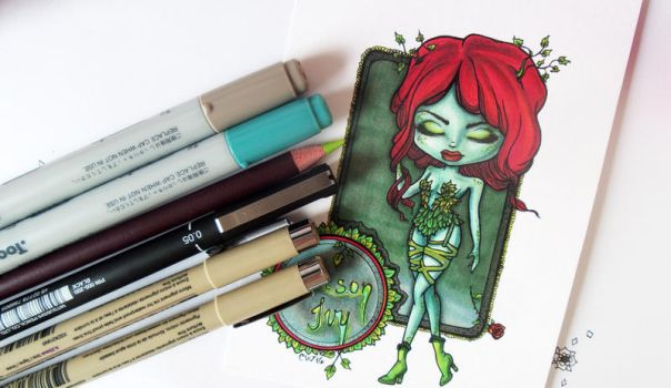 Fan Art | Poison Ivy by CatherineWhite