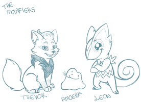 The Modifiers by M-a-y-a-l