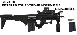 M1 MASIR Commando by Afterskies