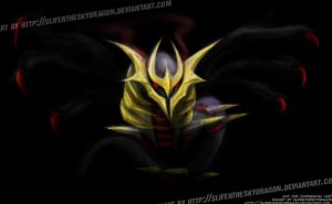 Giratina Origin Forme by slifertheskydragon