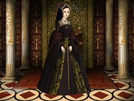 Anne Boleyn's trial gown by LadyBolena