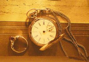 Pocket Watch and Ring by graphitemonsta