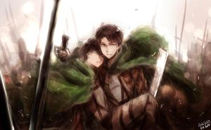 SNK -- Reluctant Heroes by aphin123