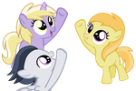 Our journey for Cutie marks begins! by DreamCasterPegasus