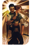 Tarot Commission - Dorian/Lavellan by shutterbones