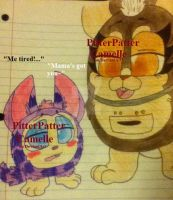Tattletail and the Mama by PitterPatterCamelle