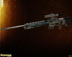 NOGARI SNIPER RIFLE  [The Scourge Project] by Goreface13