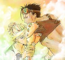 Steampunk Love by konnichipuu
