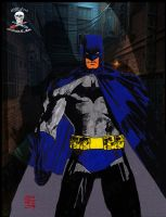 Spotlight on Batman colab by CDL113
